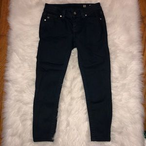 Miss Me Mid Rise Skinny Navy Jeans